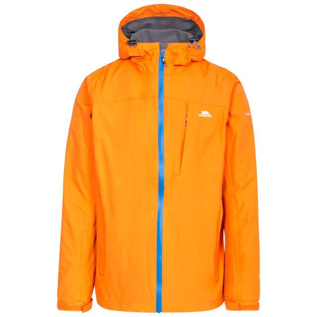 Hilman II Men's Waterproof Jacket in Yellow, Front view on mannequin