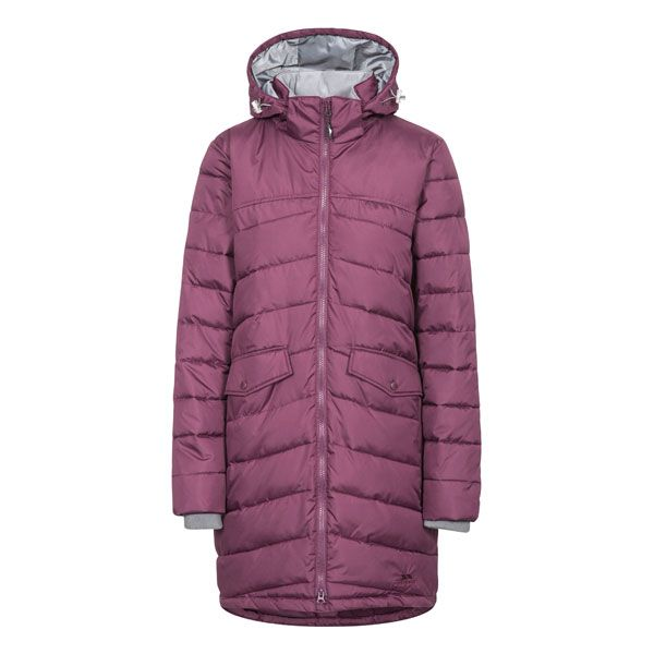 Trespass Womens Padded Jacket Homely in Burgundy