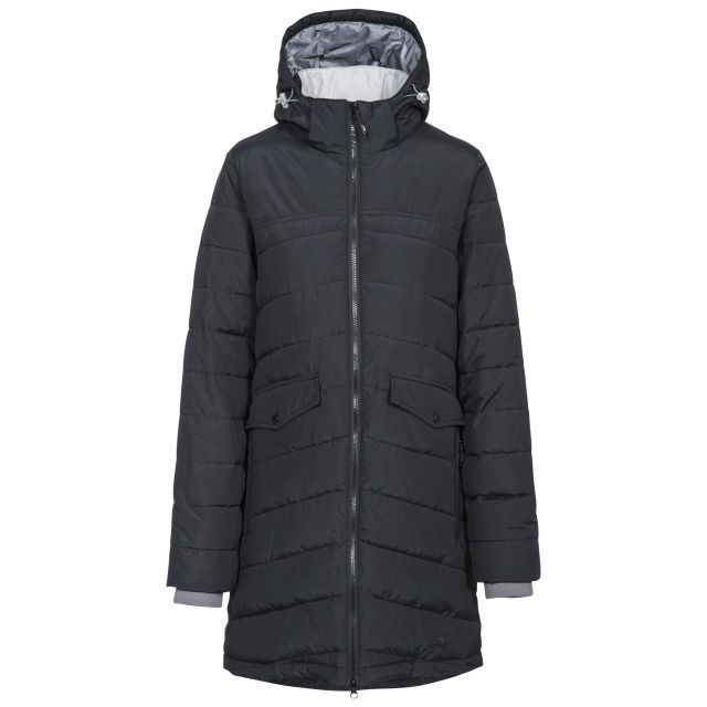 Homely Women's Padded Jacket  in Black