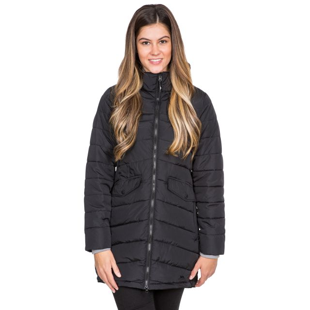 Trespass Womens Padded Jacket Homely in Black