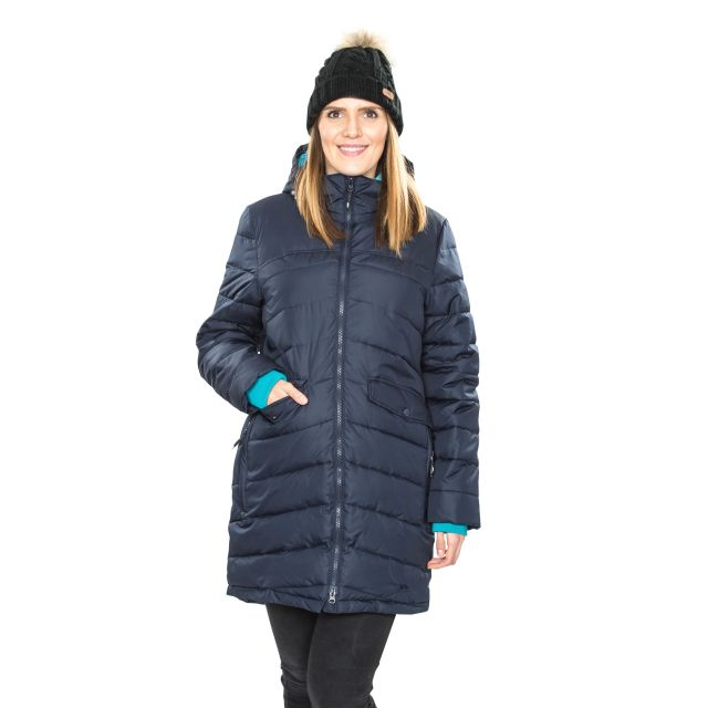 Trespass Womens Padded Jacket Homely in Navy