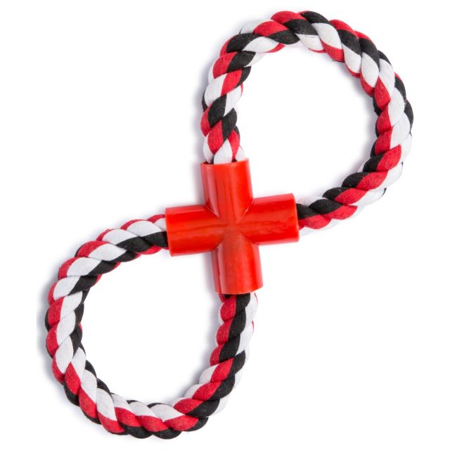 Hooper Rope Dog Toy in Black