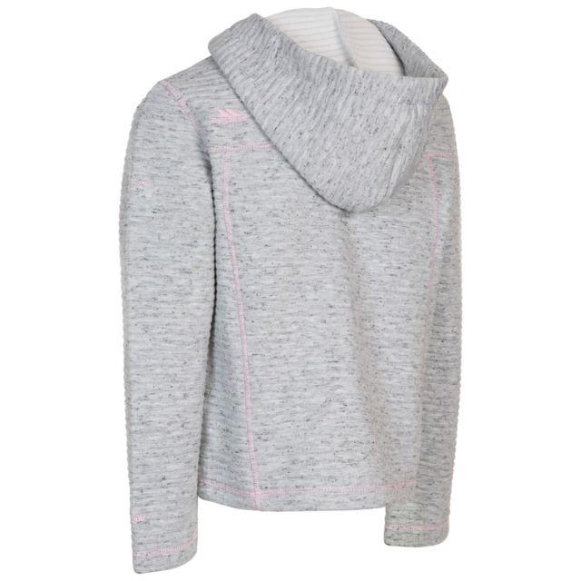 Hostile Kids' Fleece Hoodie in Grey