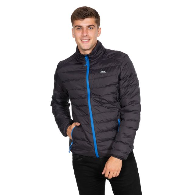 Howat Men's Lightweight Packaway Jacket in Black