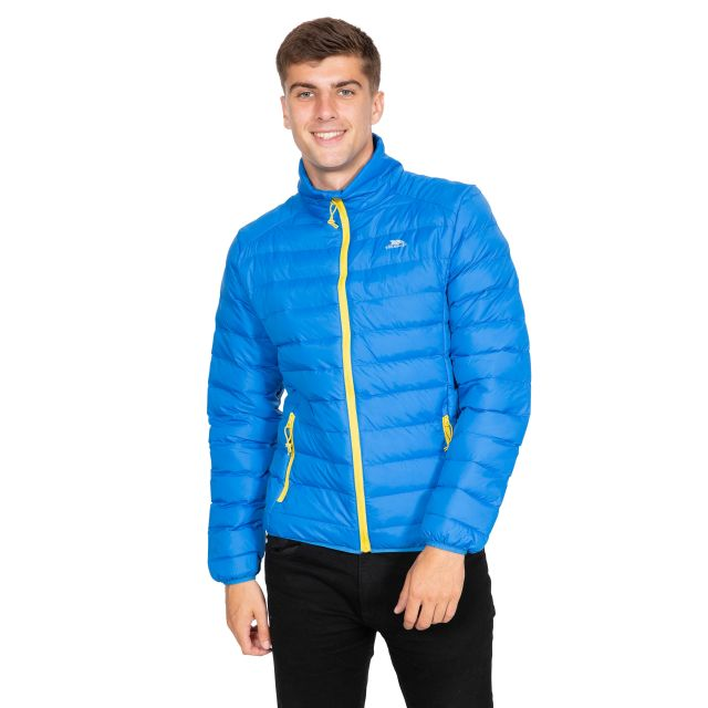 Howat Men's Lightweight Packaway Jacket in Blue
