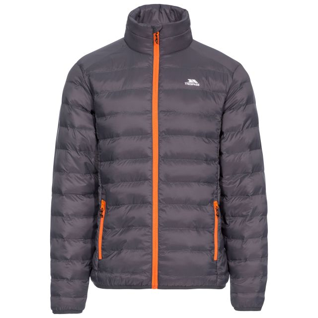 Howat Men's Lightweight Packaway Jacket in Grey