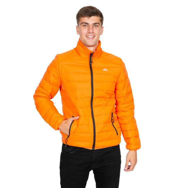 Howat Men's Lightweight Packaway Jacket in Orange