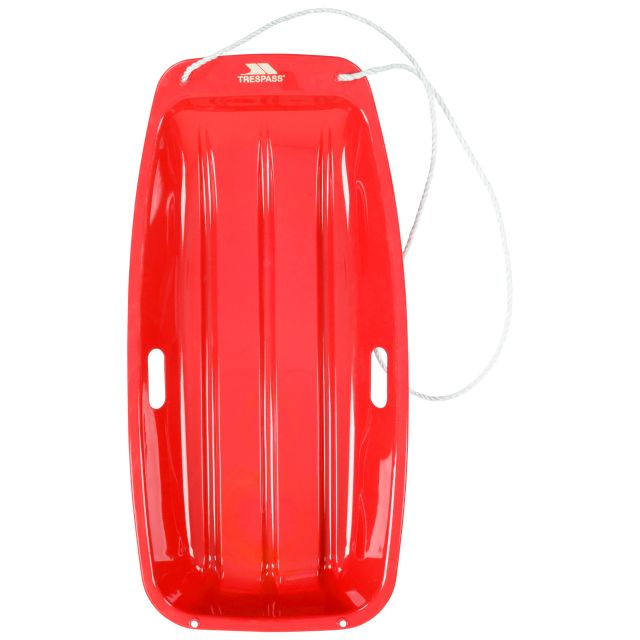 Trespass Sledge Icepop - RED, Front view