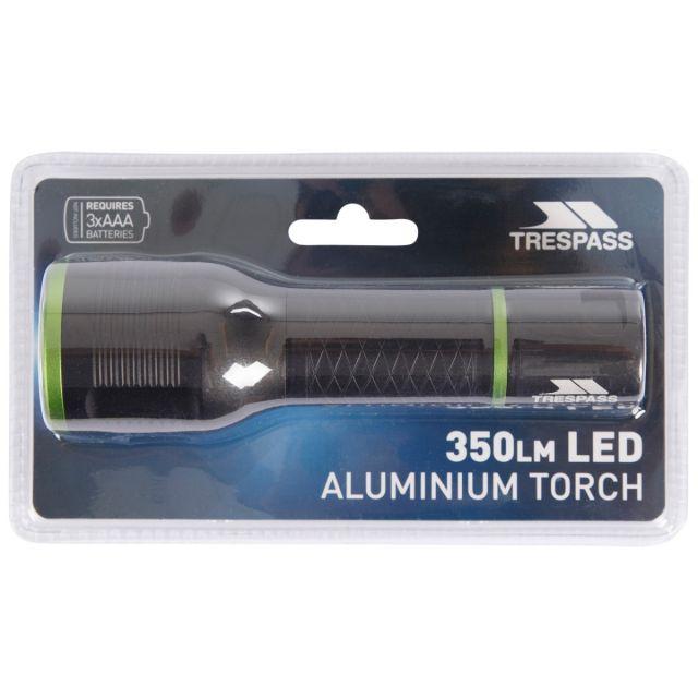 350lm LED Aluminium Torch in Black
