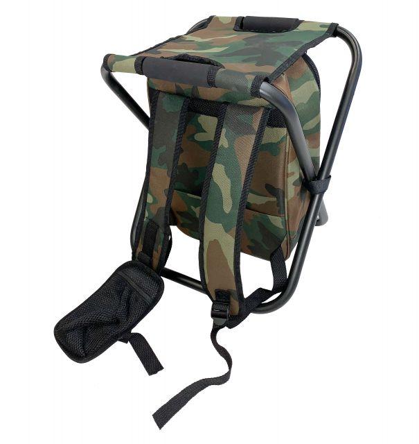 Jubilee Backpack Chair for Hiking & Fishing in Khaki