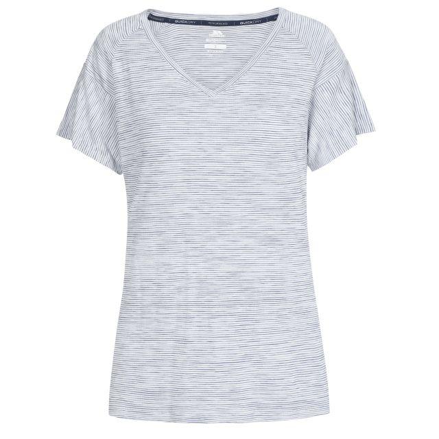 Inca Women's V-Neck T-Shirt in Light Blue