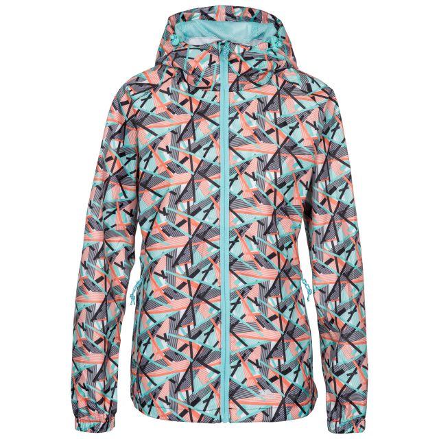 Indulge Women's Waterproof Packaway Jacket in Turquoise