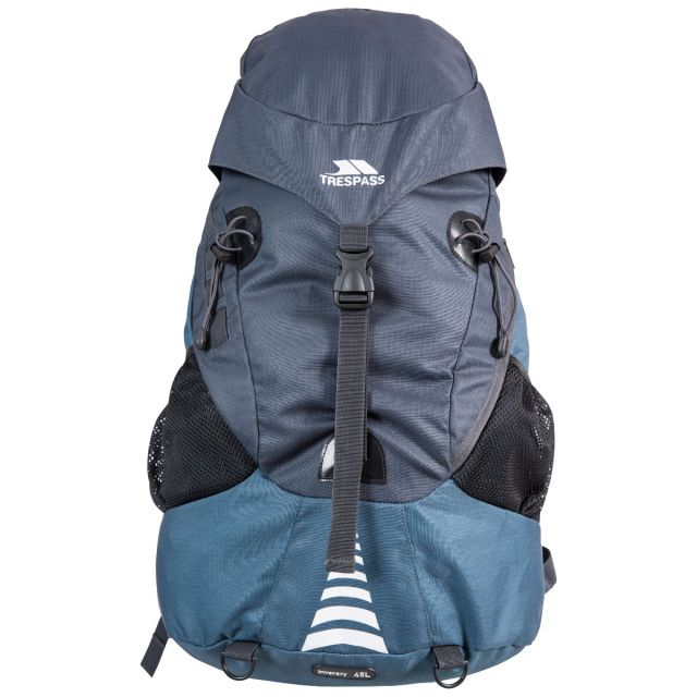 Inverary 45 L Navy Rucksack with Waterproof Cover