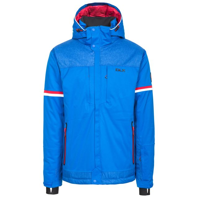 Izard Men's DLX Waterproof Ski Jacket - BLU