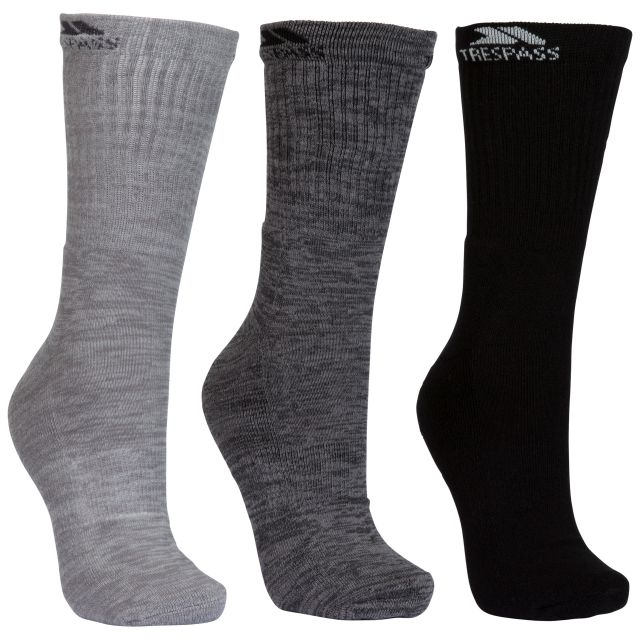 Jackbarrow Unisex Casual Socks in Grey