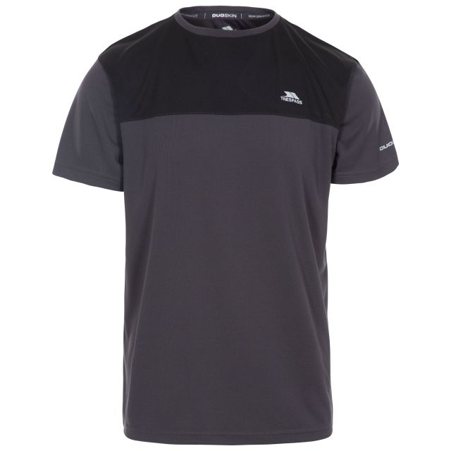 Jacob Men's Active T-Shirt in Grey