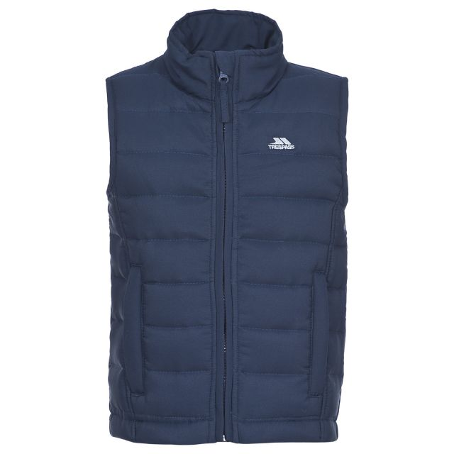 Jadda Kids' Quilted Gilet in Navy