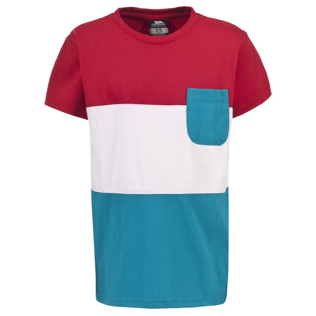 Jarvis Kids' Casual Striped T-shirt