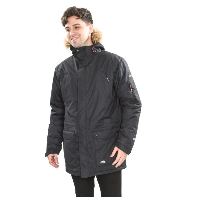 Jaydin Men's Waterproof Parka Jacket - BLK