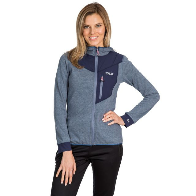Jazmin Women's DLX Quick Dry Hoodie in Navy