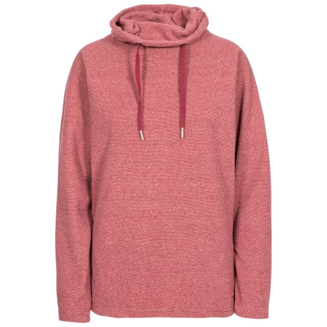 Jeannie Women's Fleece Hoodie in Pink