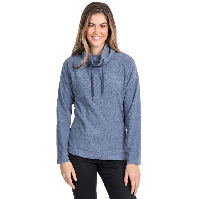 Jeannie Women's Fleece Hoodie in Navy