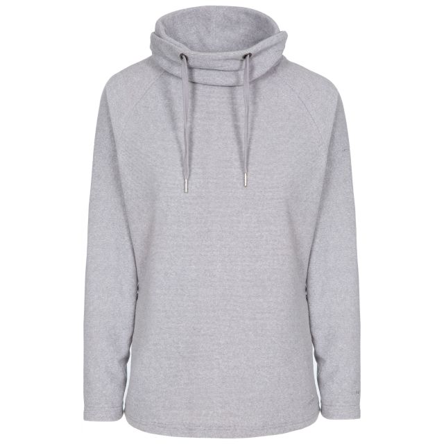 Jeannie Women's Fleece Hoodie in Grey