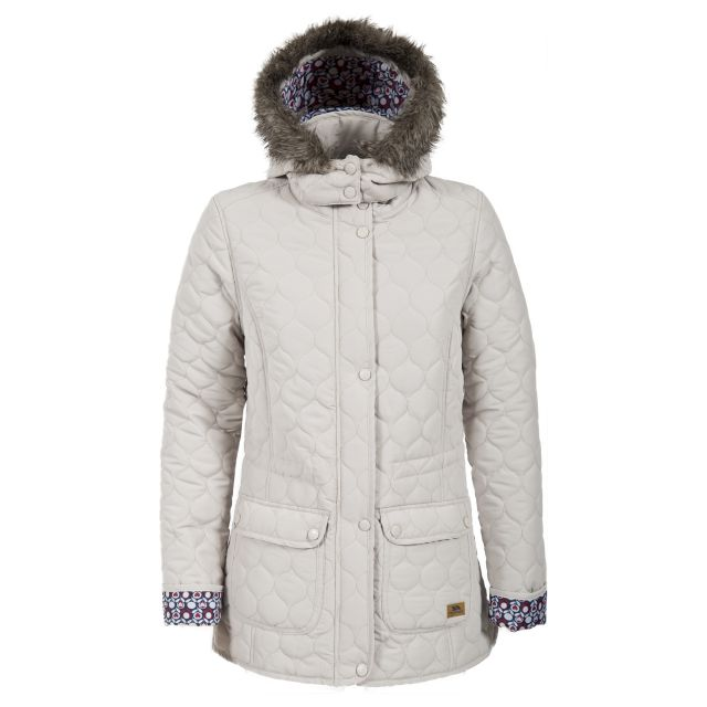 Trespass Womens Casual Jacket Jenna in Beige