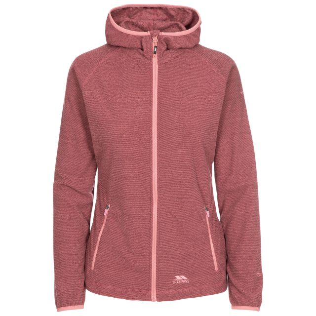 Jennings Women's Fleece Hoodie in Pink