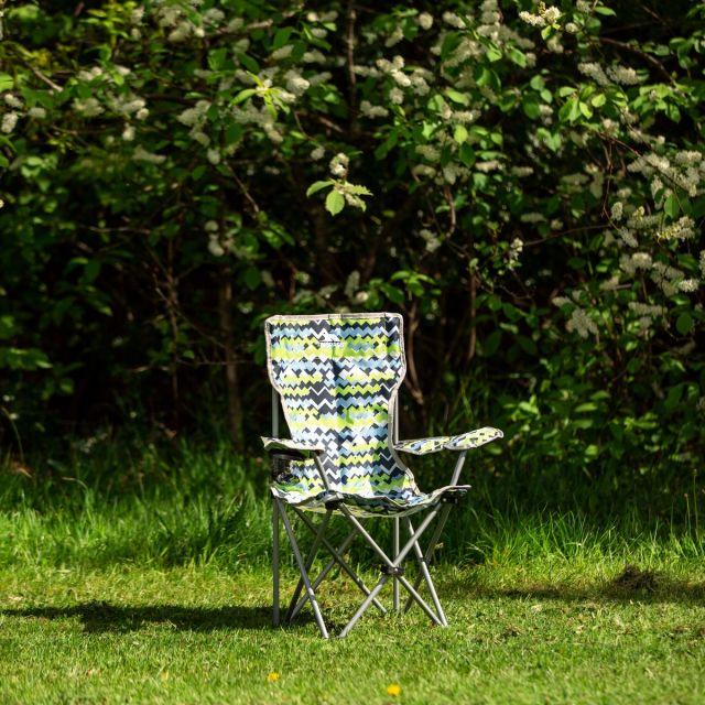 Joejoe Kids' Folding Camping Chair in Blue Pattern