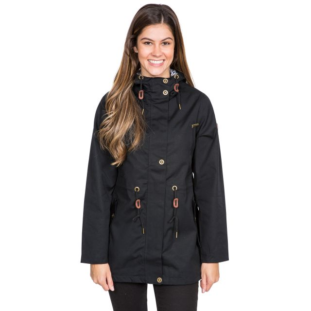 Johanna Women's Waterproof Jacket in Black