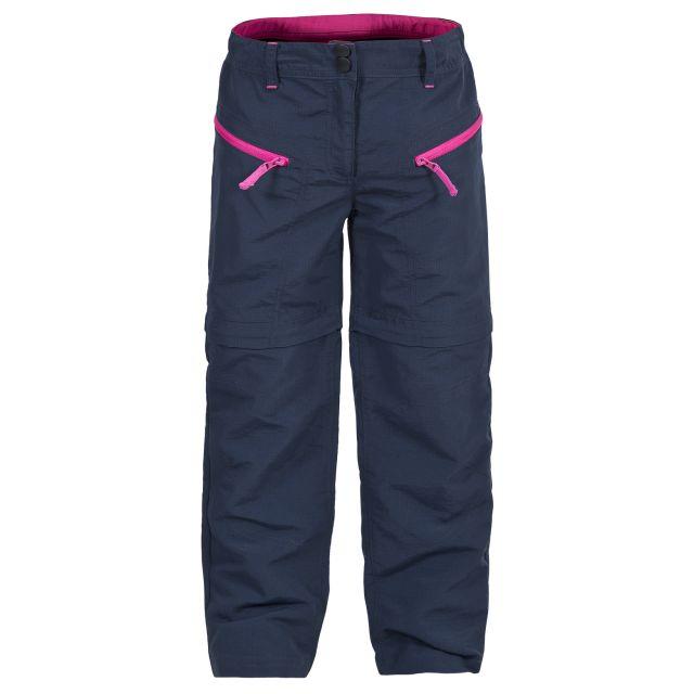 Jostle Kids' Convertible Walking Trousers in Black