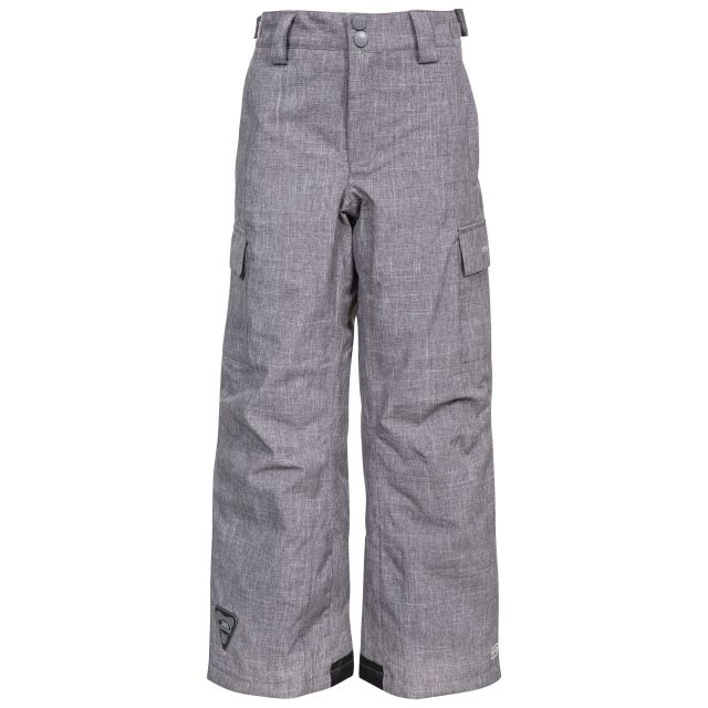 Joust Kids' Padded Salopettes in Grey