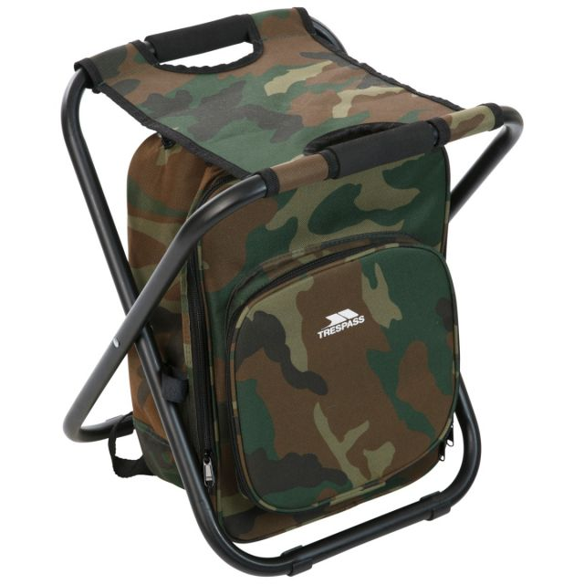 Trespass Backpack Chair for Hiking & Fishing Jubilee Khaki
