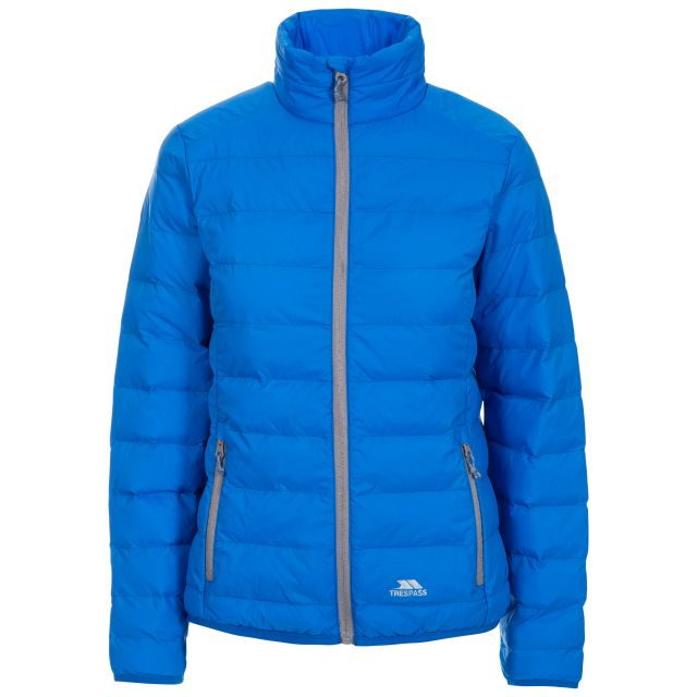 Julianna Women's Lightweight Packaway Jacket in Blue