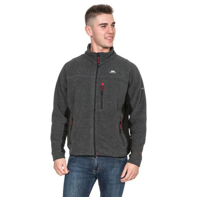 Jynx Men's Fleece Jacket in Black