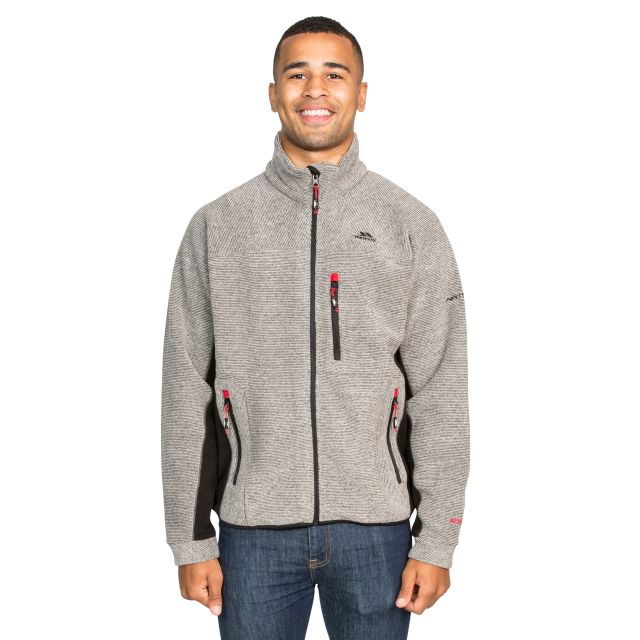 Jynx Men's Fleece Jacket in Brown