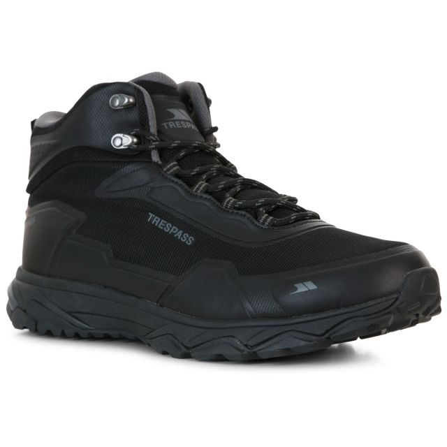 Trespass Mens Walking Boots Waterproof Mid-Cut Kakaraka