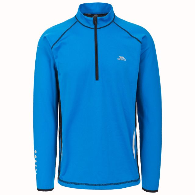 Keenan Men's Quick Dry Active Top in Blue