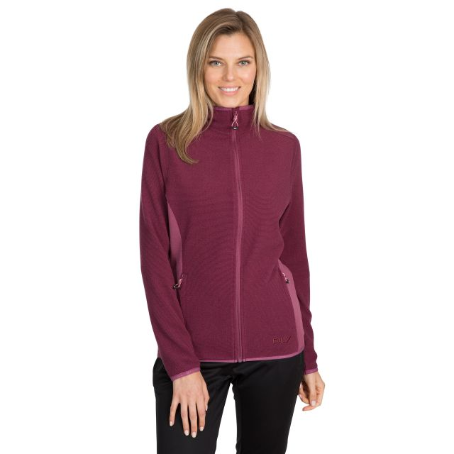 Kelsay Women's DLX Fleece Jacket in Purple