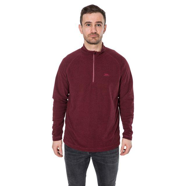 Keynote Men's 1/2 Zip Fleece in Purple