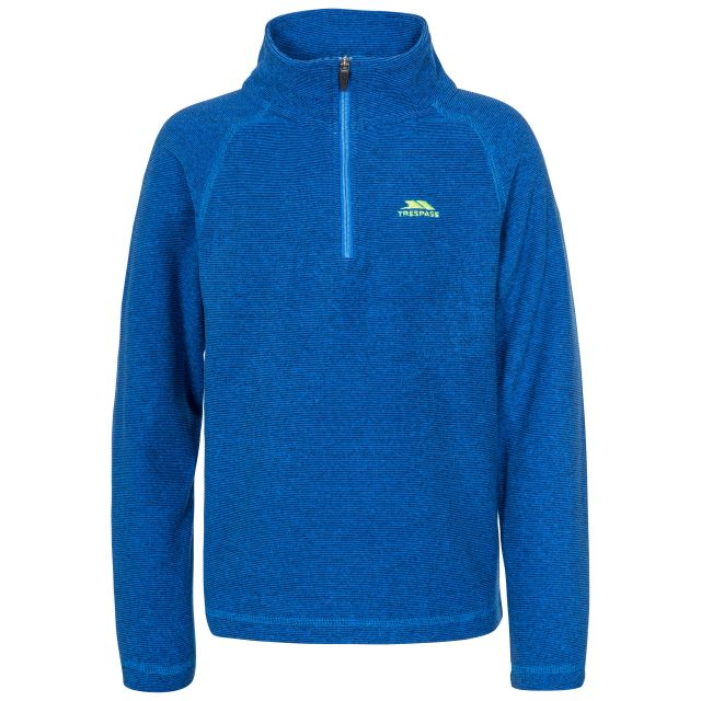 Keynote Kids' Half Zip Fleece in Blue