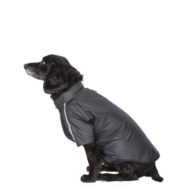 Khaos Medium Waterproof Dog Coat - BLK