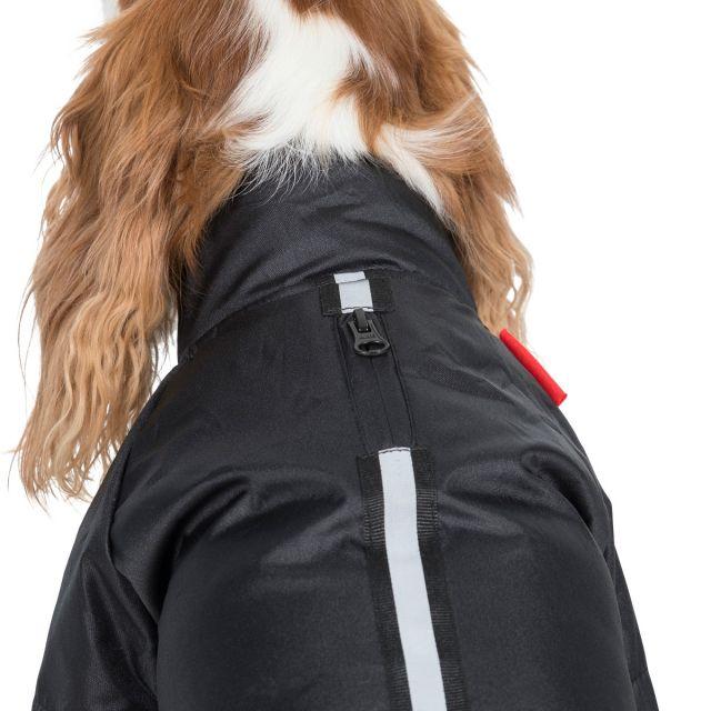 Khaos XS Waterproof Dog Coat in Black