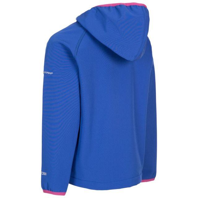 Trespass Kids' Unisex Softshell Jacket Kian Blue