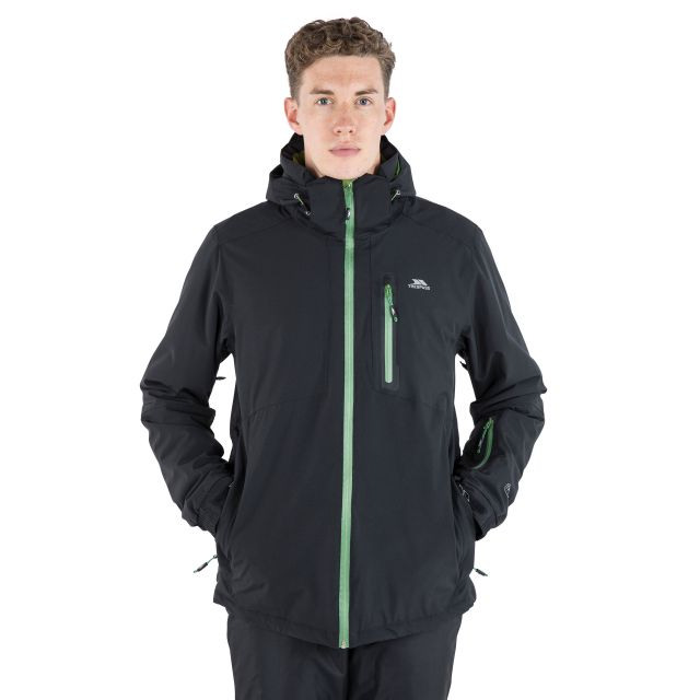 Kilkee Men's Waterproof Ski Jacket - BLK