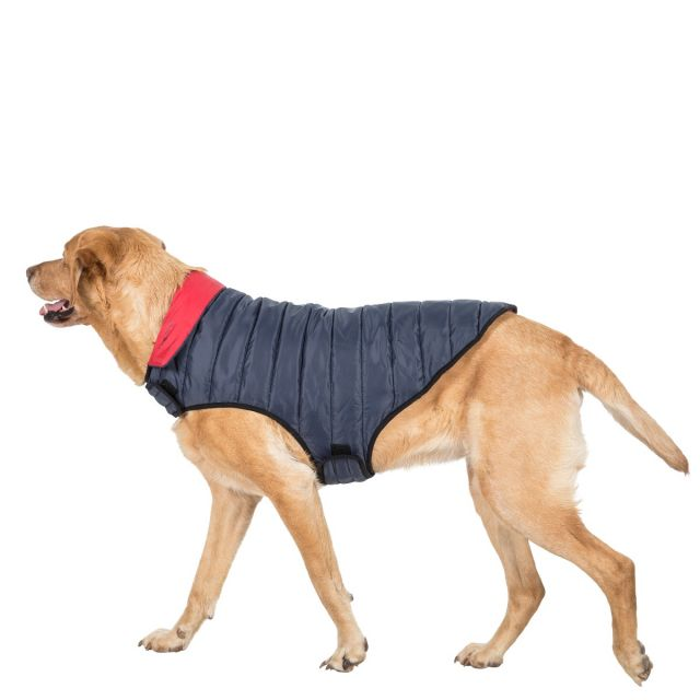 Kimmi Large Quilted Reversible Packaway Dog Coat in Grey