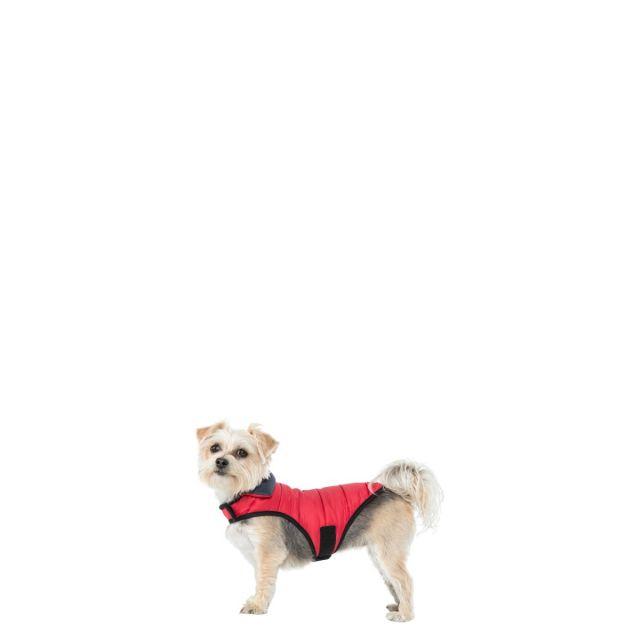 Trespass XXS Quilted Reversible Packaway Dog Coat Kimmi