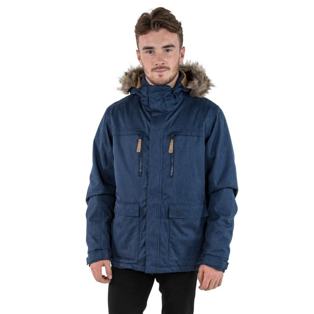 King Peak Men's Insulated Waterproof Windproof Jacket in Navy