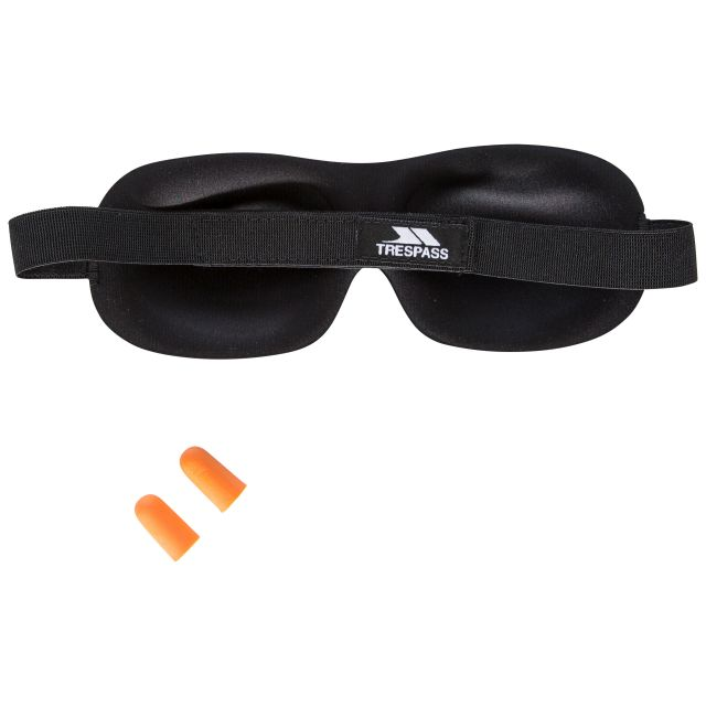 Eye Mask and Ear Plug Set in Blue
